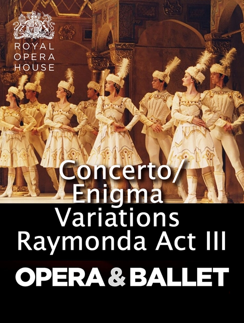 Royal Opera House: Concerto / Enigma Variations / Poster