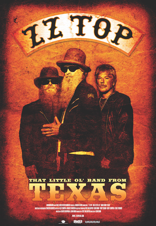 ZZ Top: That Little Ol' Band from Texas Poster