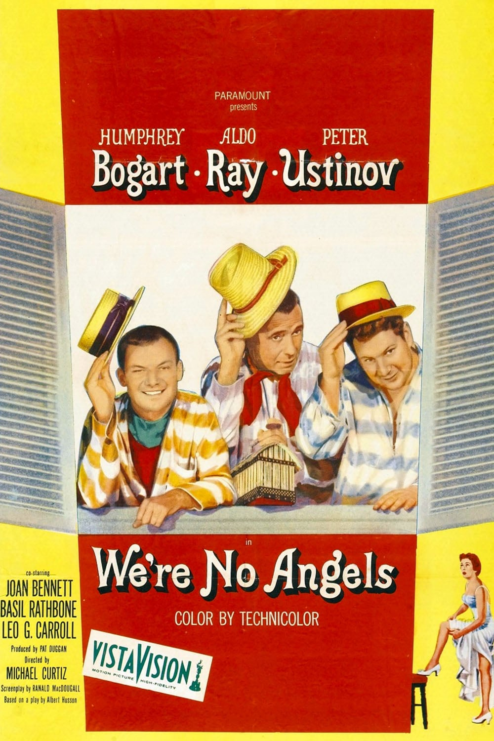 We're No Angels (1955) Poster