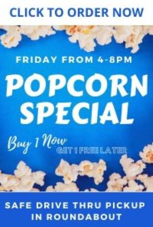 Poster for Popcorn Drive Thru Special