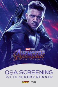 Poster of Avengers Endgame: Q&A with Jeremy Renner