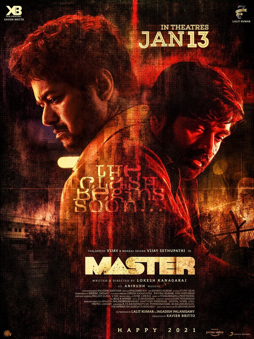 Poster of Master (Tamil-with english subtitle)