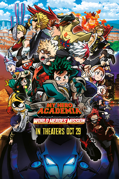 Poster of My Hero Academia: World Heroes' Mission