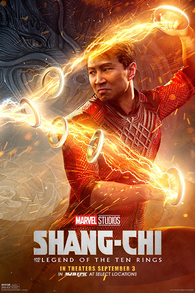 Poster of Shang-Chi and the Legend of the Ten Rings