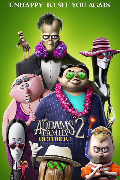 Poster of The Addams Family 2