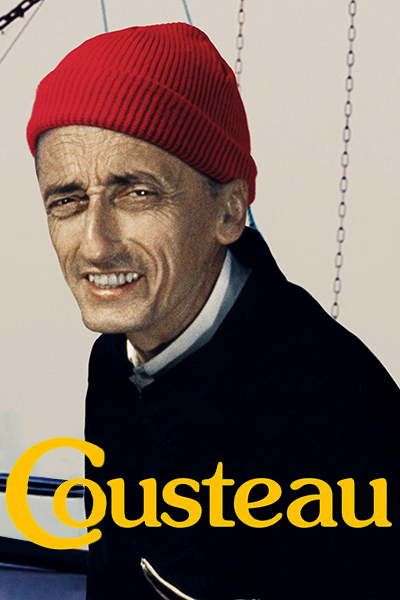 Poster of Becoming Cousteau