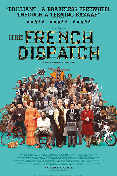 The French Dispatch Poster