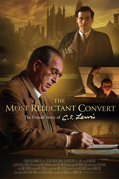 Poster of CS Lewis: The Most Reluctant Convert