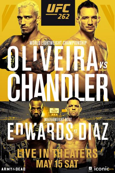 UFC 262: Oliveira vs. Chandler Poster