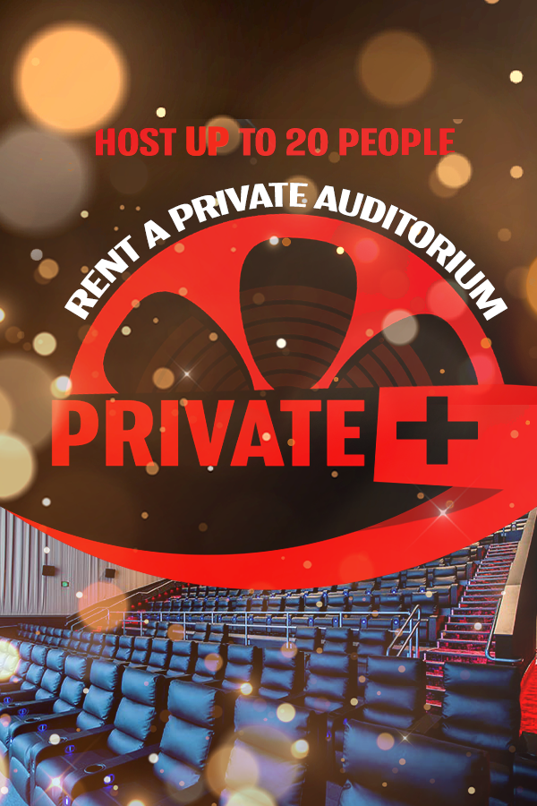 MJR Private+ Screenings (Up To 20 Guests) Poster