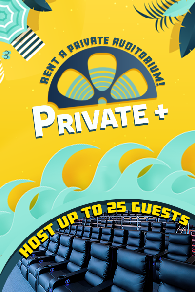 MJR Private+ Screenings (Up To 25 Guests) Poster