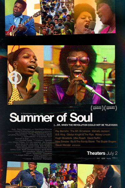 Summer of Soul (...Or, When the Revolution Could N Poster