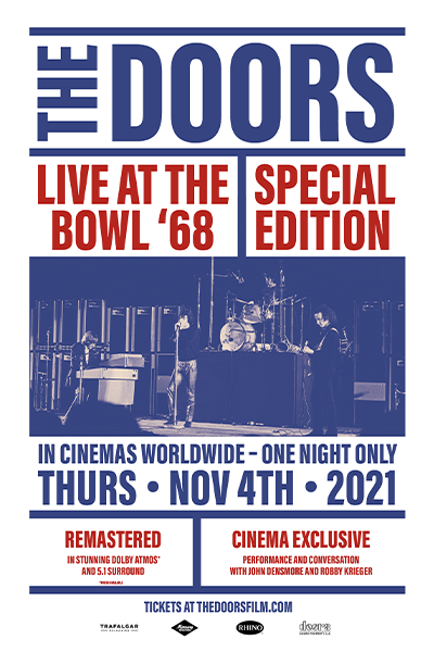 The Doors: Live At The Bowl '68 Special Edition Poster