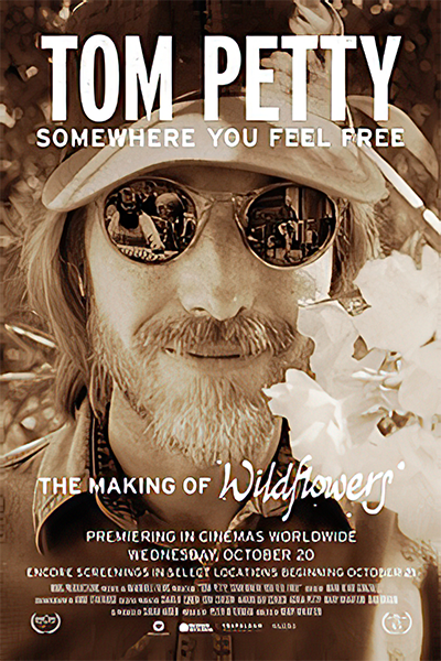 Tom Petty, Somewhere You Feel Free: The Making of Poster