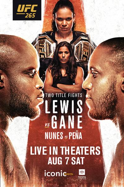UFC 265: Lewis vs. Dane Poster