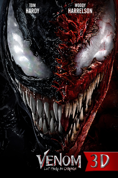 Venom: Let There Be Carnage 3D Poster