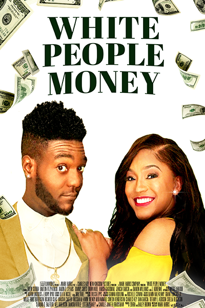 White People Money Poster