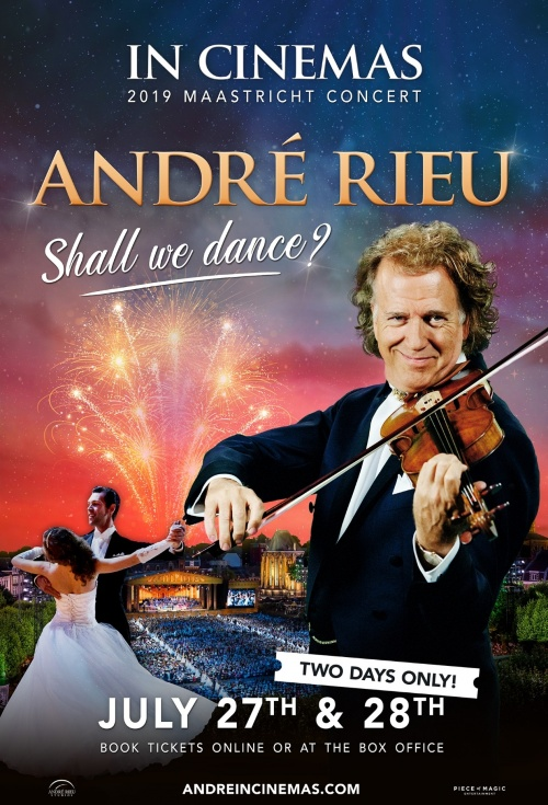 Poster of André Rieu 2019 Maastricht Concert - Shall We Dance