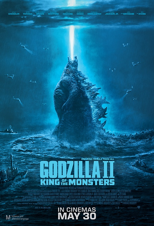 Poster of Godzilla II: King of the Monsters