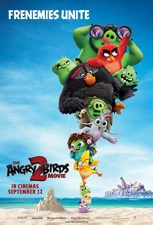Poster of The Angry Birds Movie 2