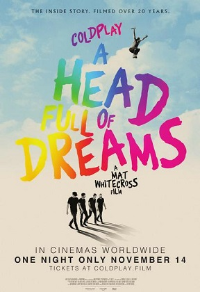 Poster for Coldplay: A Head Full of Dreams
