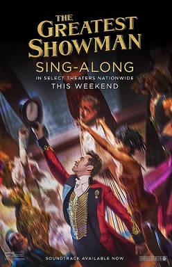Poster for The Greatest Showman Sing-A-Long