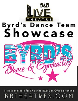 Poster of B&B Live: Byrd's Dance Team Showcase