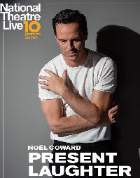 Poster of NT Live: Present Laughter