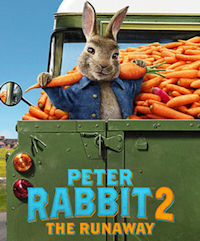 Poster of Peter Rabbit 2: The Runaway