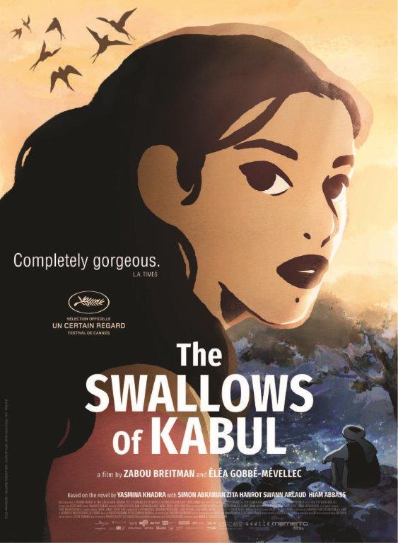 Poster of The Swallows of Kabul (Les hirondelles de Kaboul)