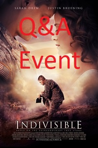 Poster of Indivisible Q&A Event