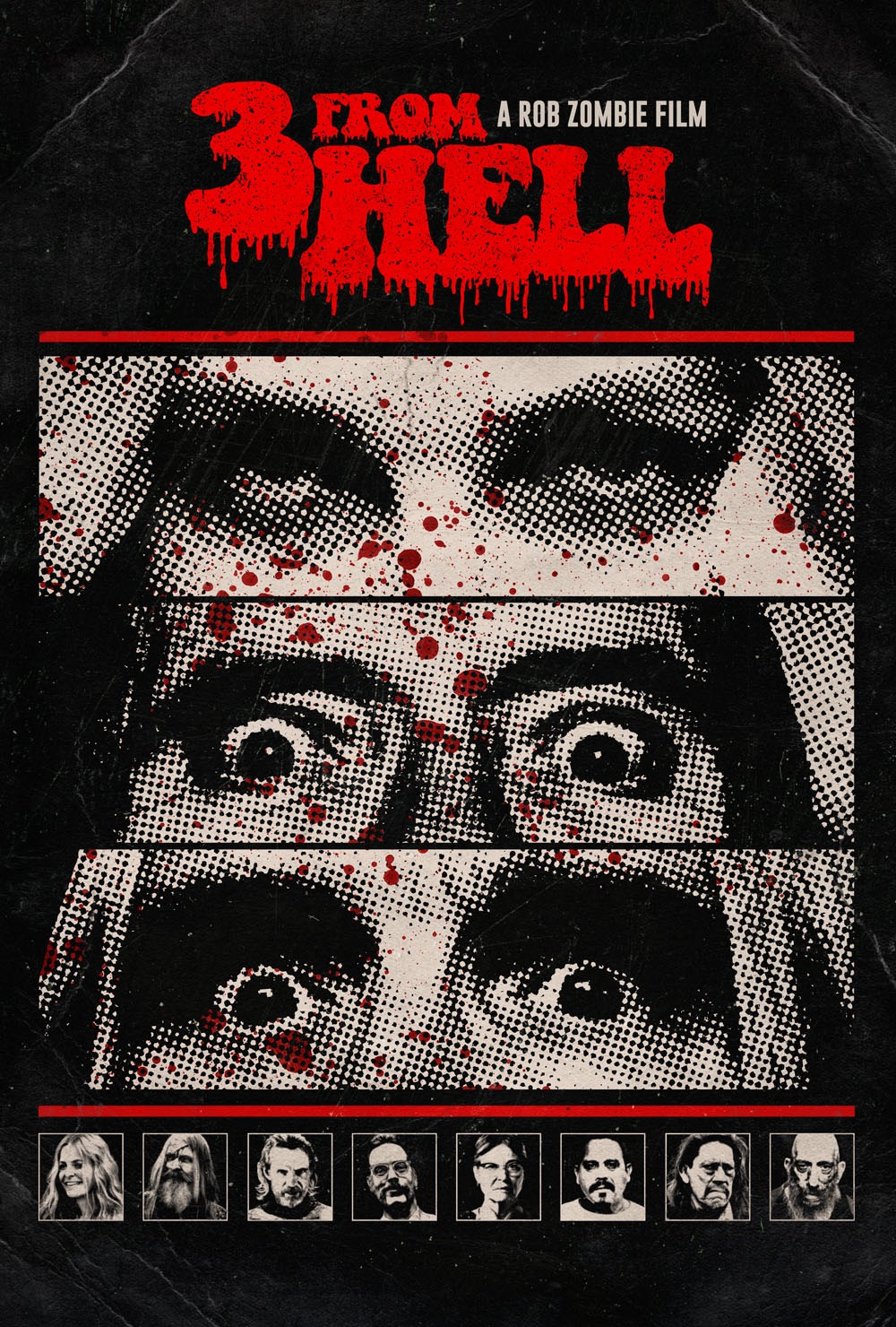 Poster of Rob Zombie's 3 From Hell - Night One