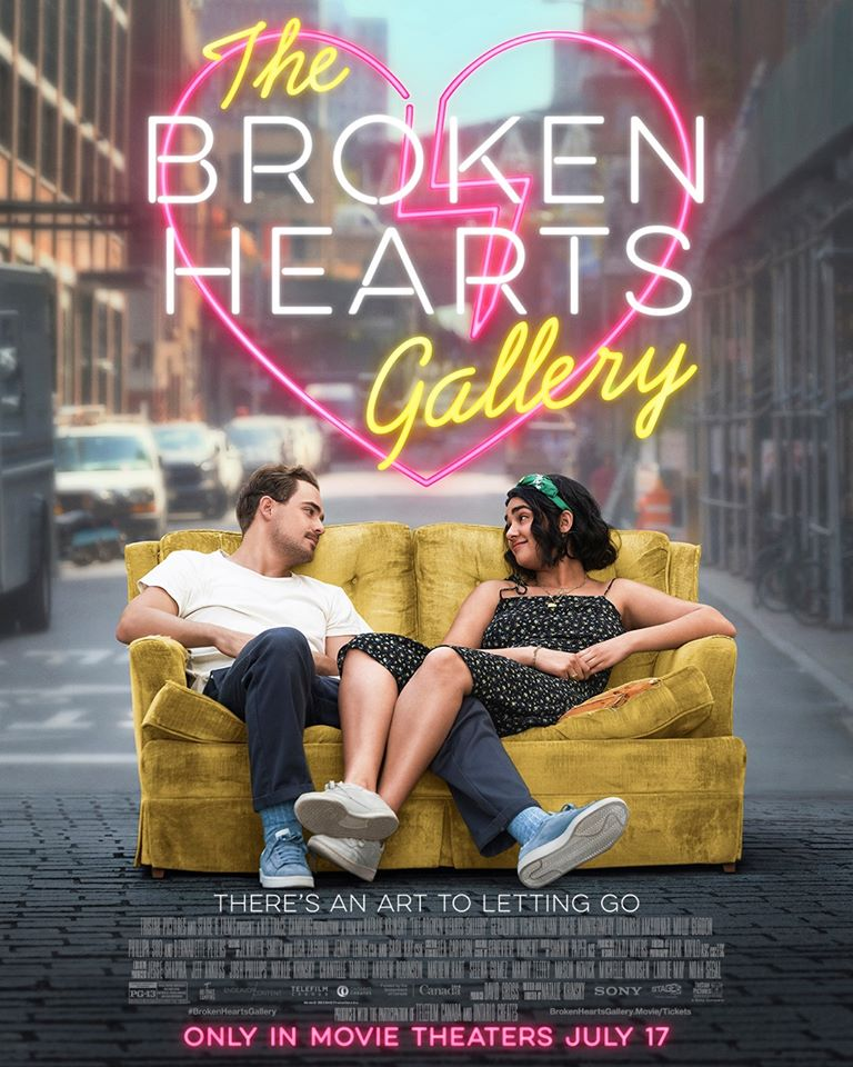 Caption Poster for The Broken Hearts Gallery