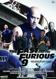 Poster of Fast & Furious 9