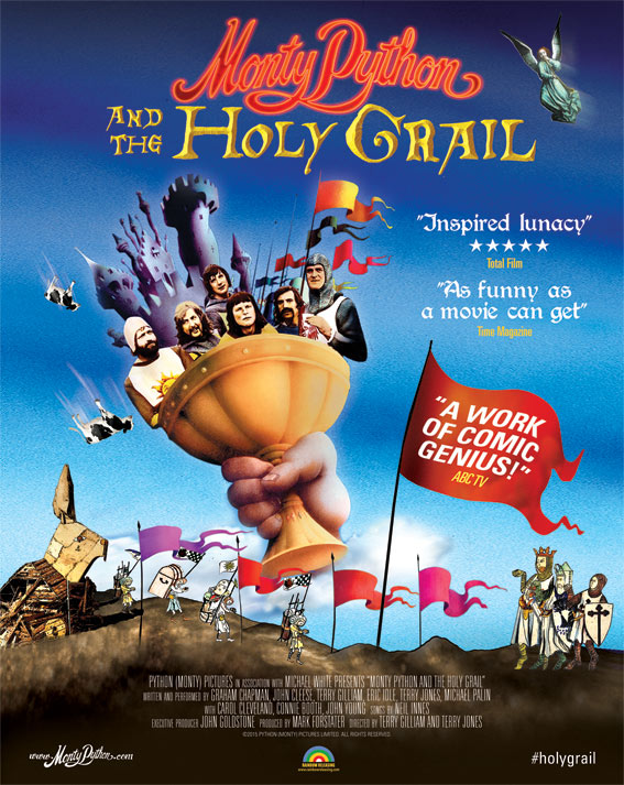 Poster of Monty Python and the Holy Grail - Int...