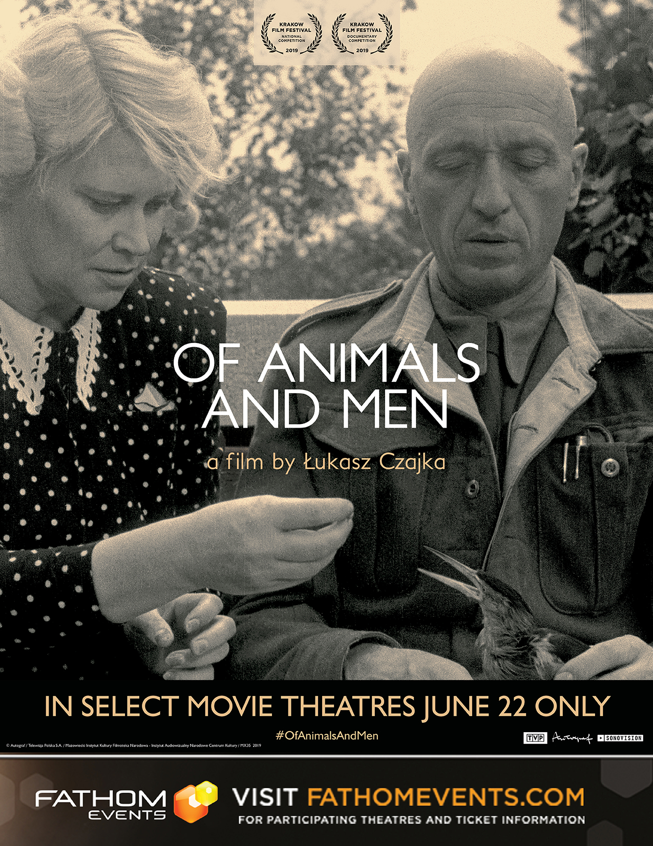 Poster of Of Animals and Men (2019)