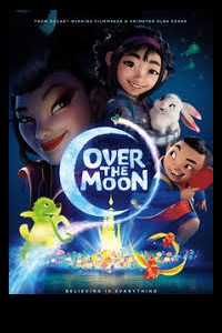 Caption Poster for Over the Moon