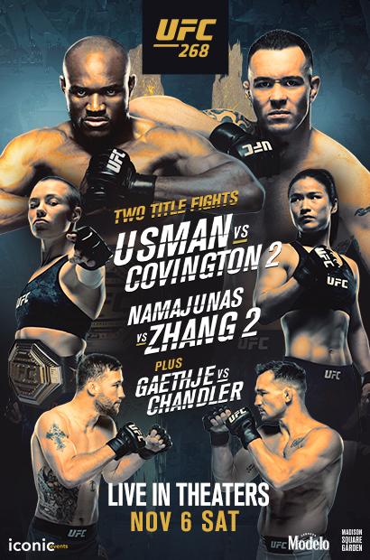Poster of UFC 268: Usman vs. Covington 2