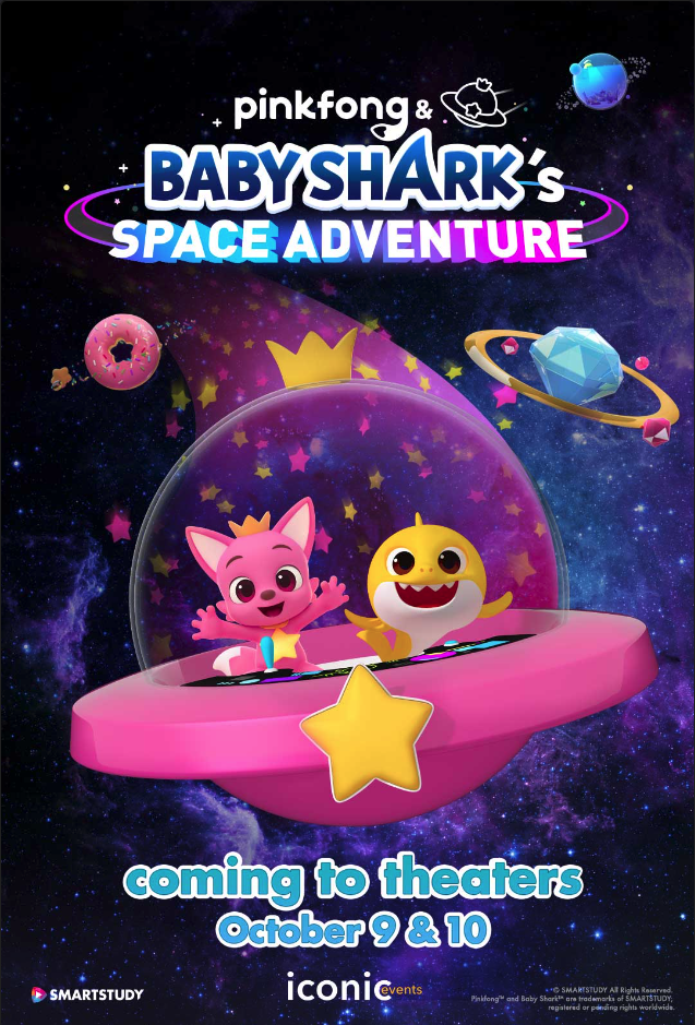 Poster of Pinkfong and Baby Shark's Space Adven...