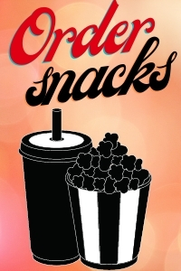 Poster of Online Snack Order - Drive In