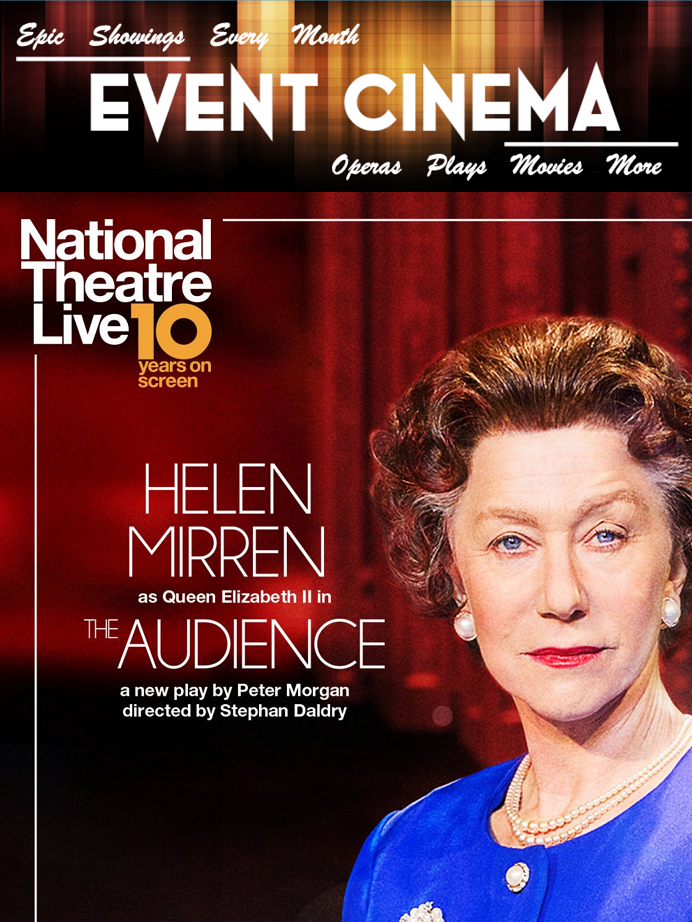 Poster of The Audience - NT Live 10th Anniversary