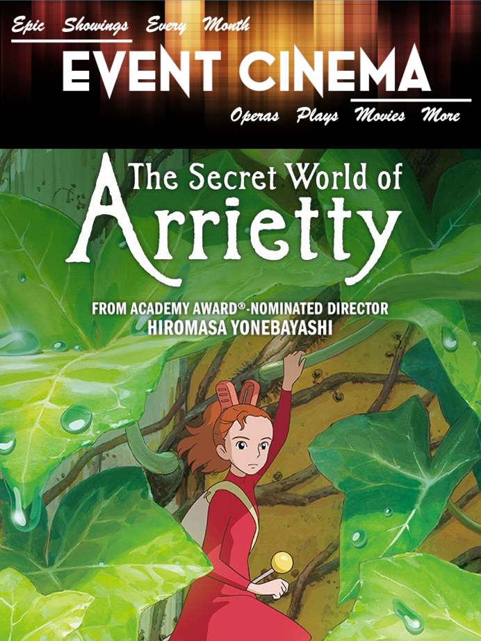 Poster of Secret World of Arrietty - Studio Ghibli Fest 2019