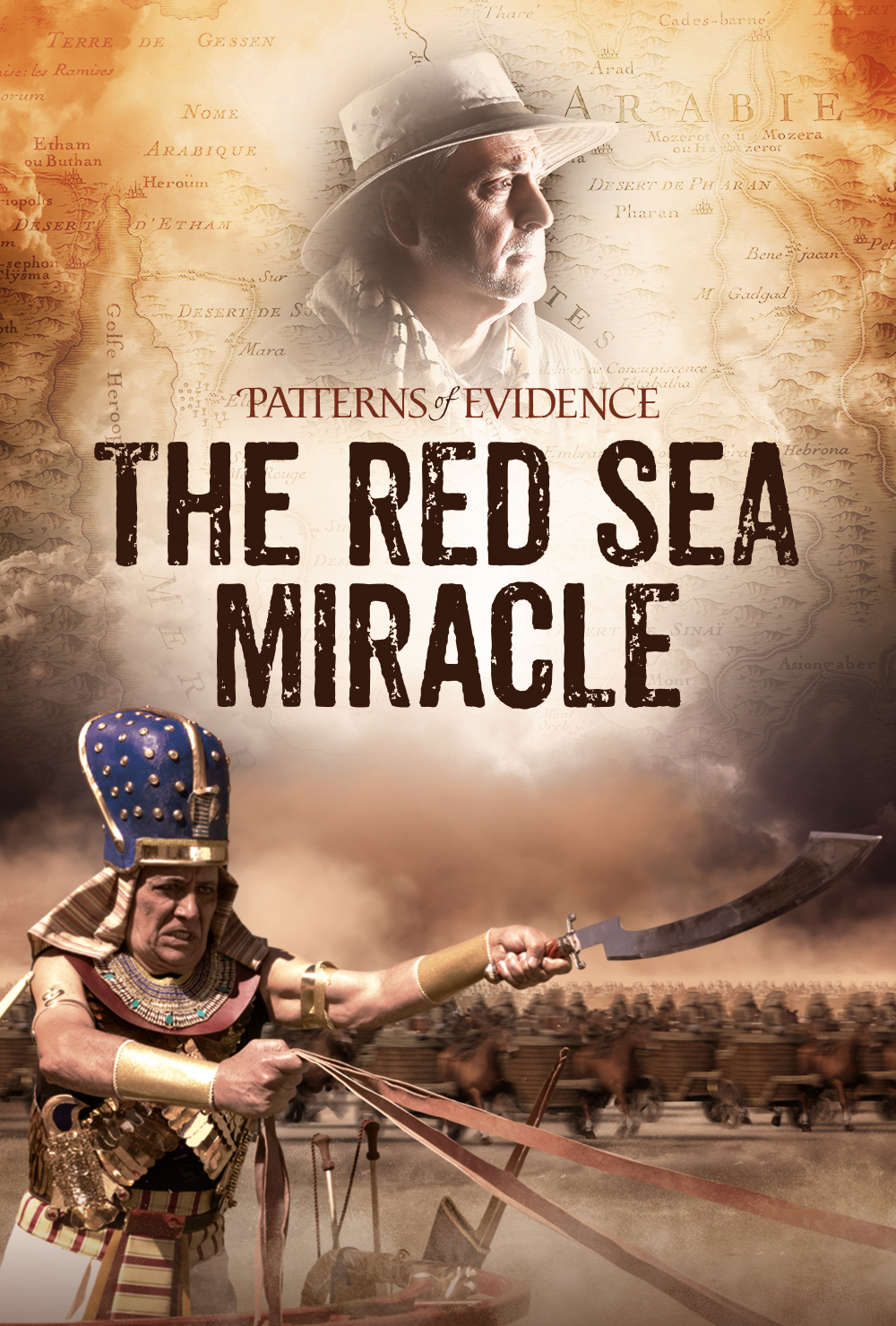 Poster of Patterns of Evidence: The Red Sea Miracle