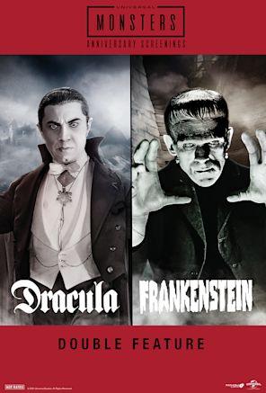 Dracula (1931) & Frankenstein (1931) Double Featur