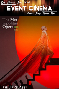 Poster of The Metropolitan Opera: Akhnaten