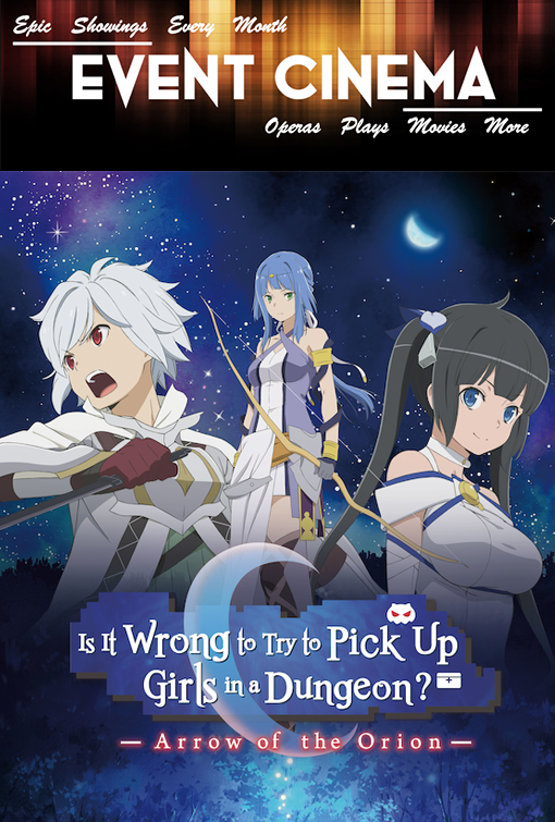 Poster of Is It Wrong to Try to Pick Up Girls in a Dungeon -