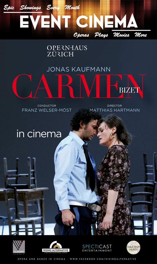 Poster of Zurich Opera House: Carmen