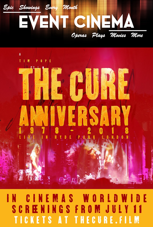 Poster of Cure - Anniversary 1978-2018 Live in Hyde Park, Th