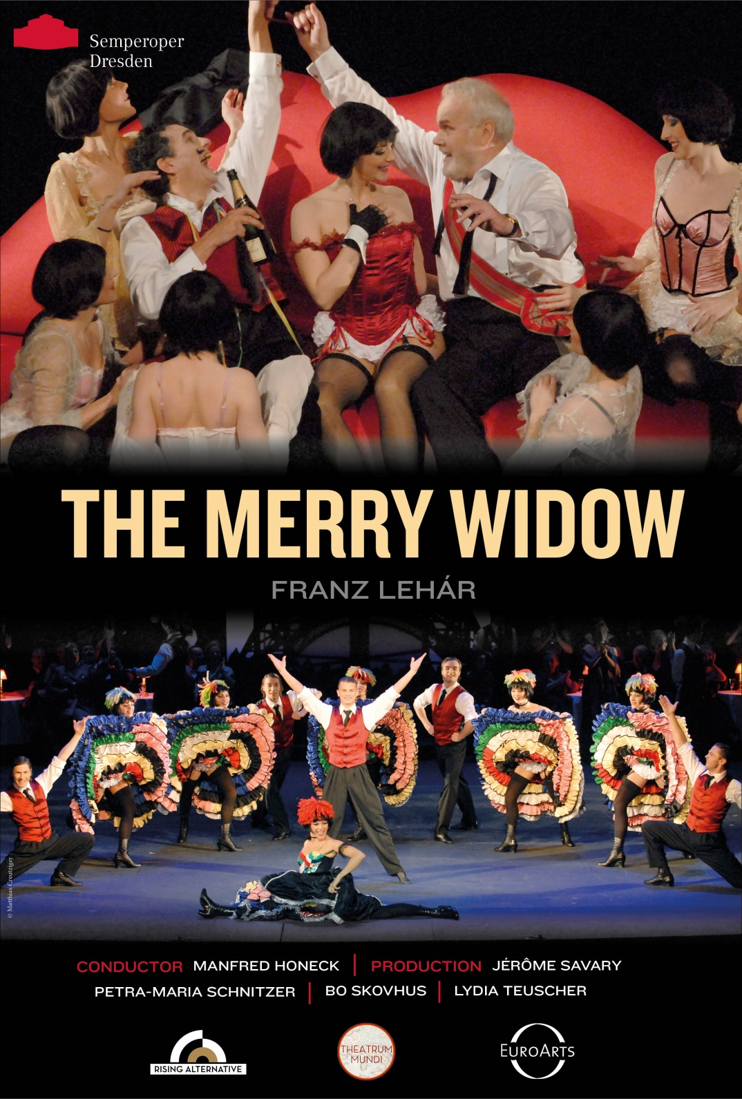 Poster of Semperoper Dresden: The Merry Widow (Die lustige W