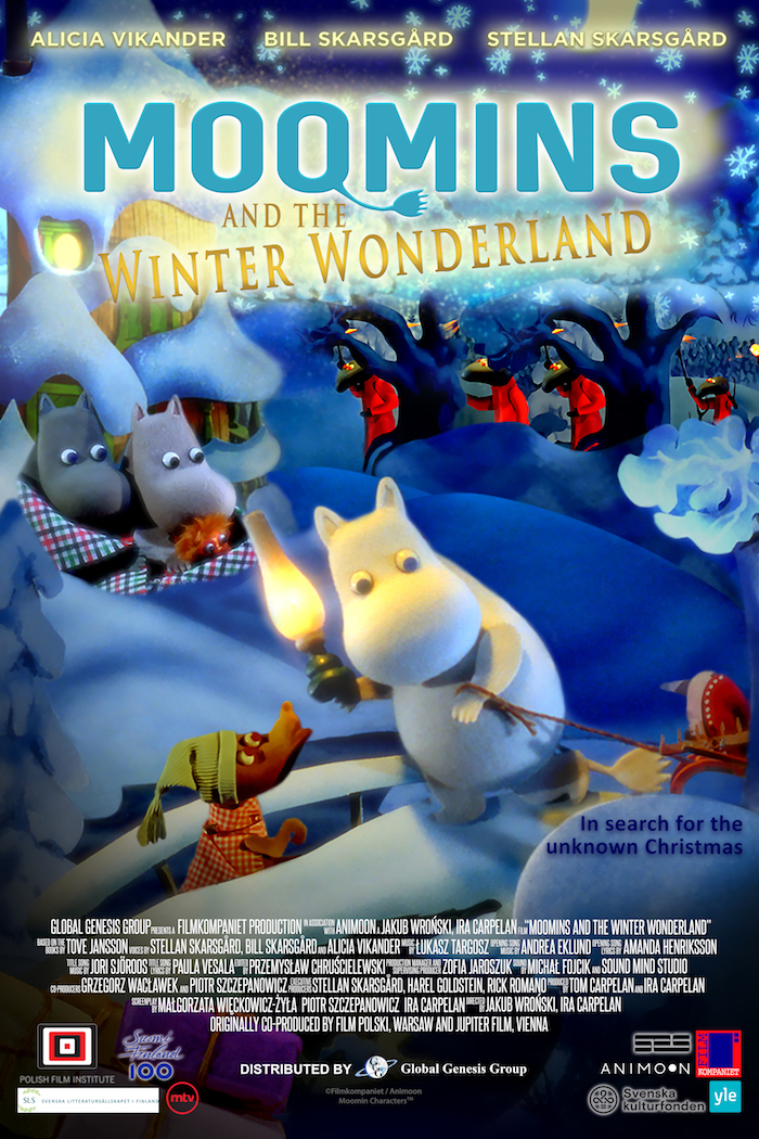 Poster of Moomins and the Winter Wonderland (Muumien joulu)